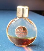 Miniature De Parfum  - Je Reviens De Worth (presque Vide)  Réf, A 02 - Vintage Miniatures (until 1960)