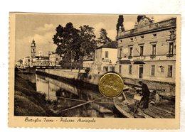 BATTAGLIA TERME PALAZZO MUNICIPALE  VIAGGIATA  1953  VEDI RETRO - Padova (Padua)
