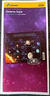Brazil Stamp Edital 2020 04 Sistema Solar Planeta - Brasilien