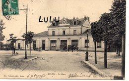 DEPT 77 : édit. Thibault N° 44 : Melun La Gare - Barbizon