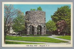 US.- NEW PORT, RODE ISLAND. OLD STONE MILL. 1971 - Newport