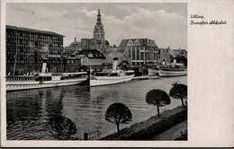 ! Alte Ansichtskarte Elbing, Dampfer, 1941, Feldpost - Polen