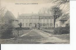 GUEMENE   Chateau De Persquen  1924 - Frankreich