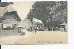 OUISTREHAM   La Gare 1923 Carte Animee - Ouistreham