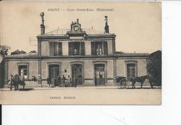 ISIGNY SUR MER  Gare Ouest Etat  Exterieur - France