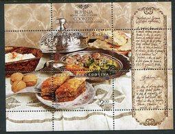 BOSNIA & HERCEGOVINA (Sarajevo) 2005 Europa: Gastronomy Block  MNH / **.  Michel Block 25 - Bosnia And Herzegovina