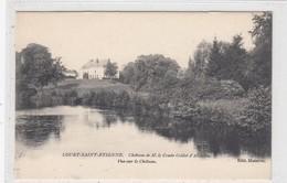 Court-Saint-Etienne. Chateau De M. Le Comte Goblet D'Alviella. Vue Sur Le Chateau. - Court-Saint-Etienne