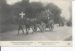LAIGUE   Ambulances Traversant La Foret - Autres Communes