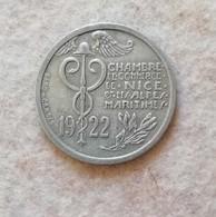 Nizza, Camera Di Commercio 10 Cent. 1922 - France