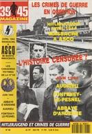 39/45 Magazine N° 068 Hitlerjugend Et Crimes De Guerre - Historia