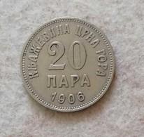 Montenegro 20 Para 1906 - Yugoslavia