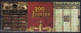 Portugal 2017 Neuf Avec Gomme Tricentenaire De La Bibliothèque Baroque Joanina Université De Coimbra - 1910 - ... Repubblica