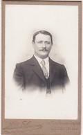 Photographie : Carte De Visite : Homme - Portrait : Photo. MONGE-GUYON - Crest - Drome - Voir 2 Scans - - Alte (vor 1900)