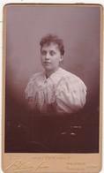 Photographie : Carte De Visite : Femme - Portrait : Photo. BLAIN Frères - Valence - Drome - Tranche Dorée - Voir 2 Scans - Alte (vor 1900)