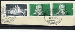 SUISSE 1948:  Bel Affranchissement De 20c. - Winter 1928: St-Moritz