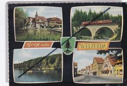 Allemagne ; Luftkurort-Welzheim .Feuersee- Rechs Oben ; Viaduht -Laufemühle-Links Unten: Ebnisse... - Otros