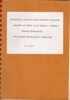 Magnes / Contribution à L'étude Des Griffes , Etiquettes Concernant Les Rebuts Et Les Retours à L'employeurs - Littérature