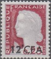 Y&T N° 350 Marianne De Decaris Réunion Surcharge CFA - Réunion (1852-1975)