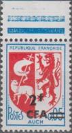 Y&T N° 373 Et 377 Blason Auch Et Lions International Réunion Surcharge CFA - Réunion (1852-1975)