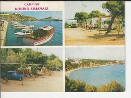 Camping Kokino Limanaki Rafina Attika  Greece - Grèce