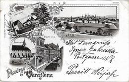 1898 - VARAZDIN, Gute Zustand, 2 Scan - Croatia