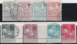Belgie    .    OBP        .    92/99      .         O      .      Gebruikt   .    /    .   Oblitéré - 1910-1911 Caritas