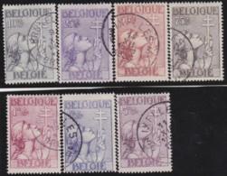 Belgie    .    OBP        .   377/383       .         O     .      Gebruikt   .    /    .   Oblitéré - Gebruikt