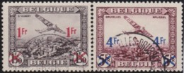 Belgie    .    OBP        .   LP 5/6      .         O     .      Gebruikt   .    /    .   Oblitéré - Poste Aérienne