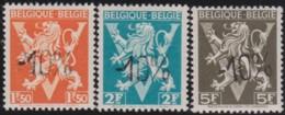 Belgie  .  OBP .      724 G/H/I    .    *     .      Ongebruikt   . /  .   Neuf Avec Charniere - Nuovi