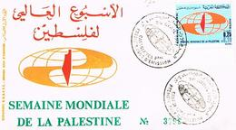 MAROC  ENVELOPPE + TIMBRES + OBLITIRATIONS 1971  TBE  EN 59 - Marokko (1956-...)