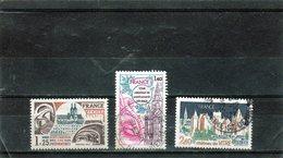 FRANCE    1977  Y.T. N° 1947  1948  1949  Oblitéré - Oblitérés