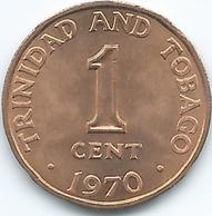 Trinidad & Tobago - 1970 - 1 Cent - KM1 - Trinité & Tobago