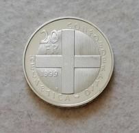 Svizzera 20 Fr. 1999 - Zwitserland