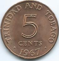 Trinidad & Tobago - 1967 - 5 Cent - KM2 - Trinité & Tobago