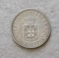 India Portugueza 1 Rupia Carlos I 1904 (NC) - India