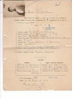 Certificat Espagne Consulat Nantes 1930 Basilio Ornillo Abila - Documents Historiques