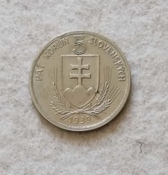 Slovacchia 5 Korun 1939 - Eslovaquia