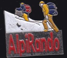 64842 -Pin's-alpinisme.Alpirando.magazine.Presse. - Alpinisme