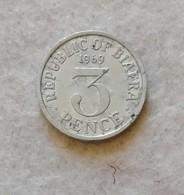 Biafra 3 Pence 1969 (NC) - Biafra