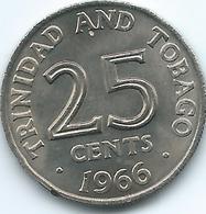 Trinidad & Tobago - 1966 - 25 Cent - KM4 - Trinité & Tobago