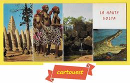 ♥️ ♥️☺♦♦ REPUBLIQUE DE LA HAUTE VOLTA - Mosquée BOBO DIOULASSO - Danseuse Nue - Chute Banfora  CPCM Couleurs 21x10 - Senegal