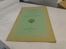 CARTULAIRES DU DEPARTEMENT DE L'OISE  BIBLIOGRAPHIE ANALYTIQUE  Communication De Jean BEREUX (ENVOI) 1957 - Picardie - Nord-Pas-de-Calais