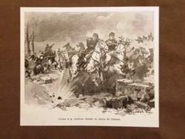 Generale Stefano Canzio E Capitano Bondet Nella Campagna Del 1870-1871 Prenois - Altri