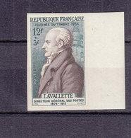 FRANCE 969 JOURNEE DU TIMBRE LAVALETTE  ESSAI DE COULEUR LUXE NEUF SANS CHARNIERE - Proofs