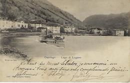 SUISSE - TRES RARE - Capolago - Lago Di Lugano - 1902 - TI Tessin