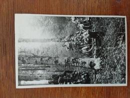 LA BRESSE -LE SCHLITTAGE DU BOIS PHOTO DE GROUPE -SOLDAT - Other Municipalities