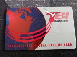 BERMUDA  TBI TELEBERMUDA,RECHARGEBLE CARD VERY RARE  (RRRR) **1903** - Bermuda