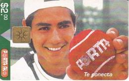 TARJETA DE ECUADOR DE TENIS (TENNIS) PORTA - Ecuador