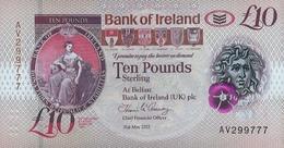 Northern Ireland (BOI) 10 Pounds 2017 (2019) UNC Cat No. P-91a / IEN137a - [ 2] Irlanda Del Norte