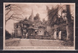 275P * KASSEL * WILHELMSHÖHE * LÖWENBURG * NORDSEITE * 1918 **! - Kassel